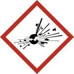 GHS01, Explosive Stoffe