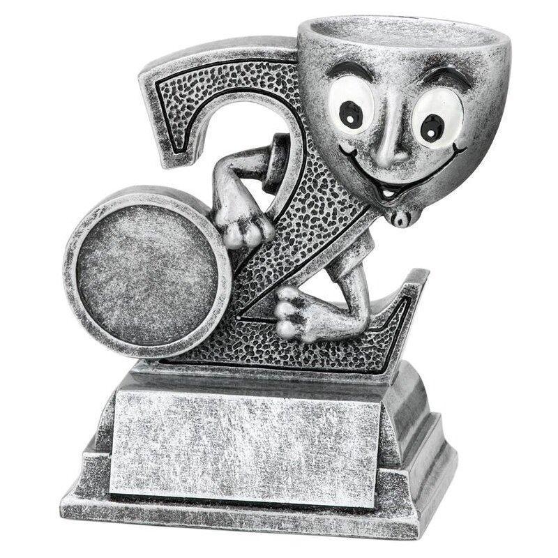 Pokal zweiter Platz Figur
