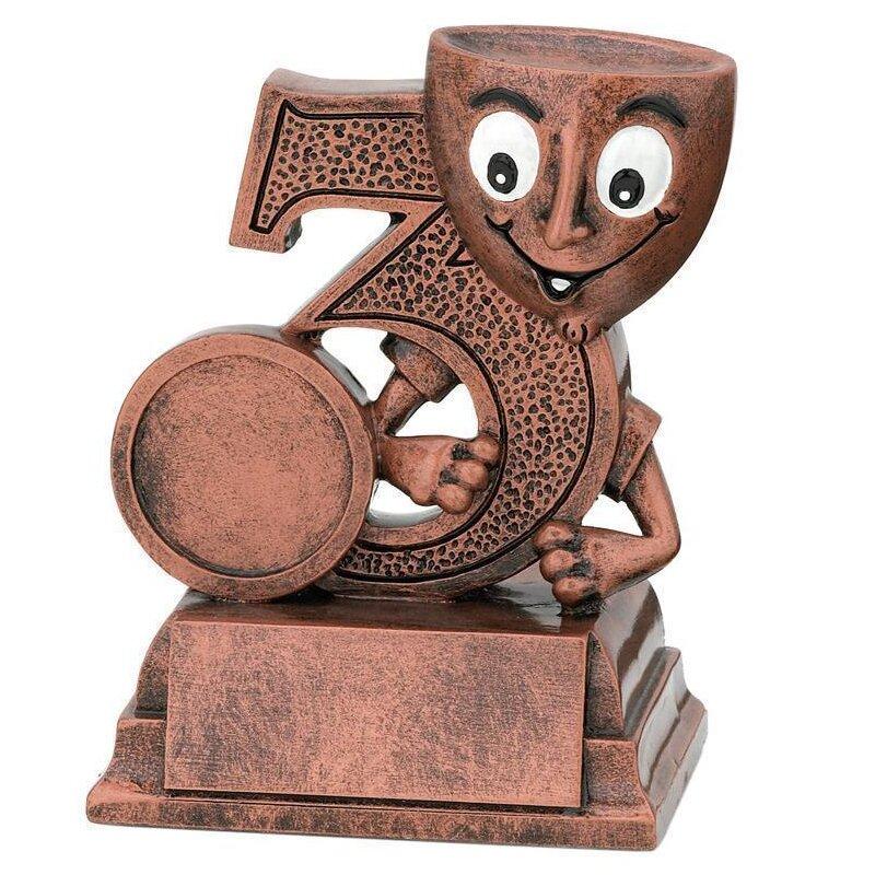 Pokal dritter Platz Figur