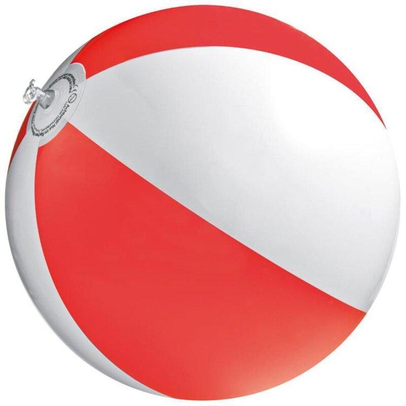Strandball ca. 26 cm Rot