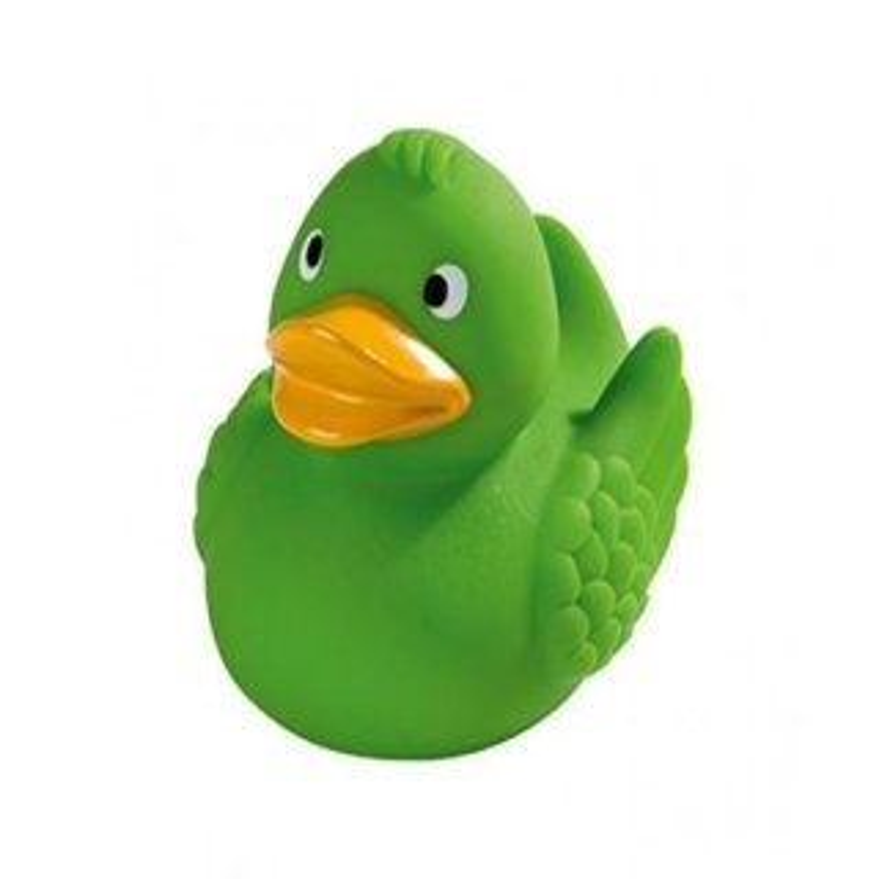Quietsche-Ente Wings grün 8 cm