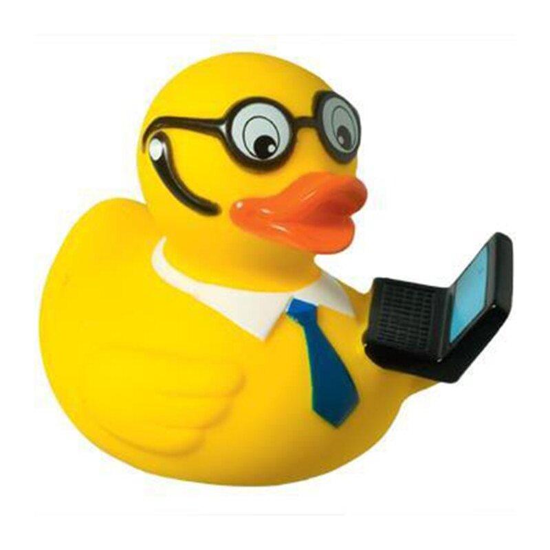 Quietsche-Ente Laptop