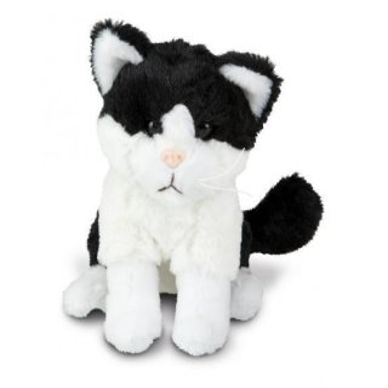 Plüsch Katze Frauke schwarz