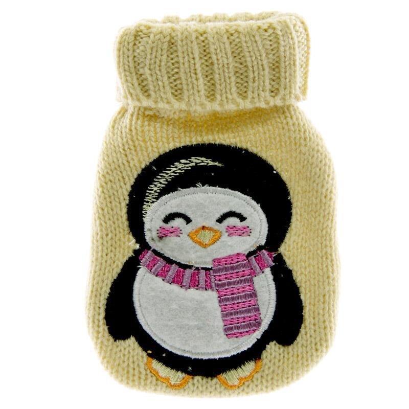 Knitted Hand Warmer Gelb