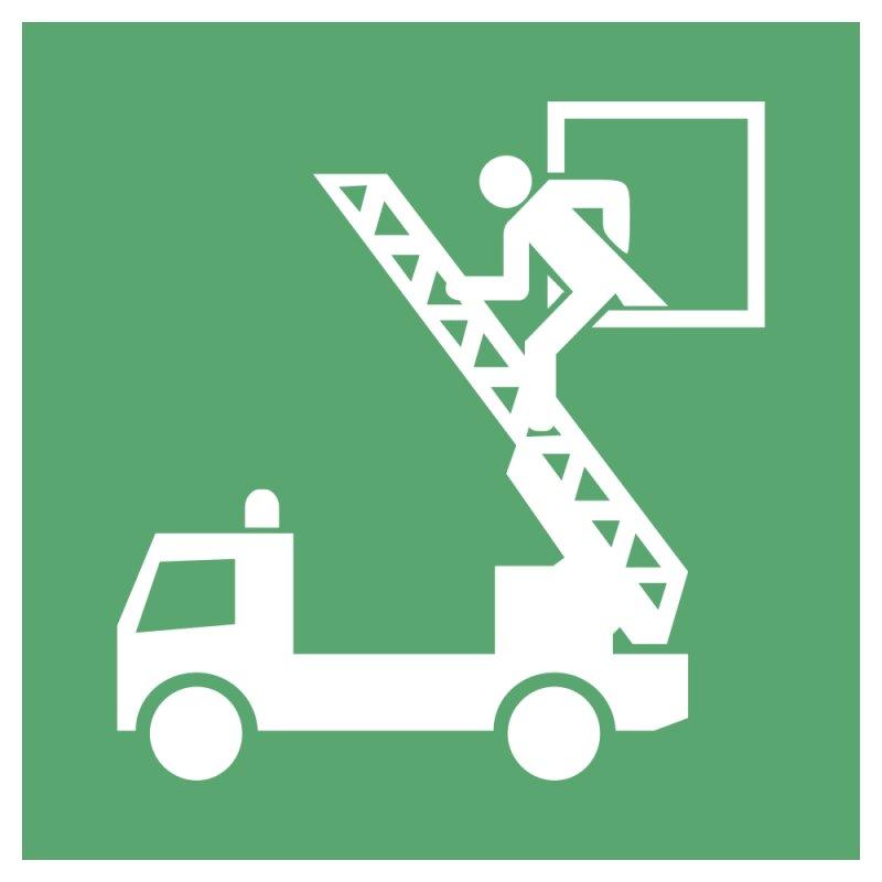 """Aufkleber """"Rettungsausstieg"""", DIN ISO 7010, Premiumqualität verschiedene Größen"""
