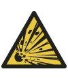 Warnung vor explosionsgefährlichen Stoffen