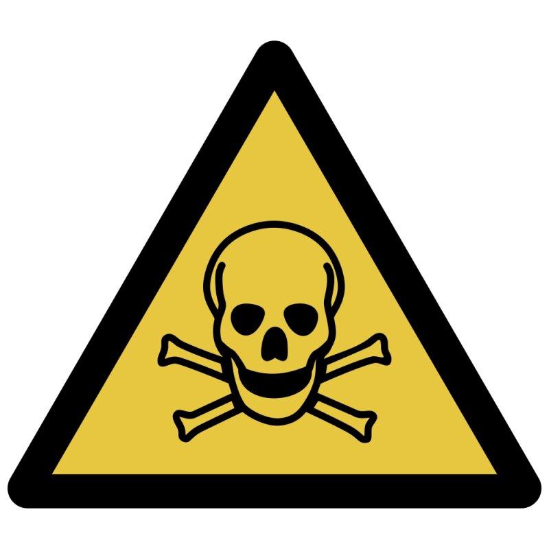 Warnung vor giftigen Stoffen