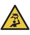 Warnung vor Hindernissen im Kopfbereich
