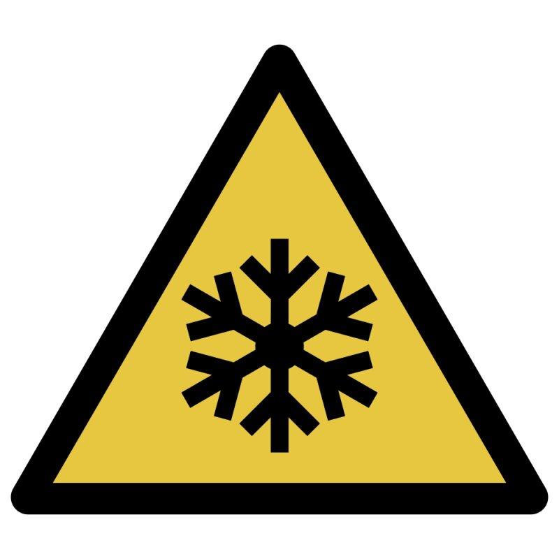 Warnung vor niedriger Temperatur/Kälte