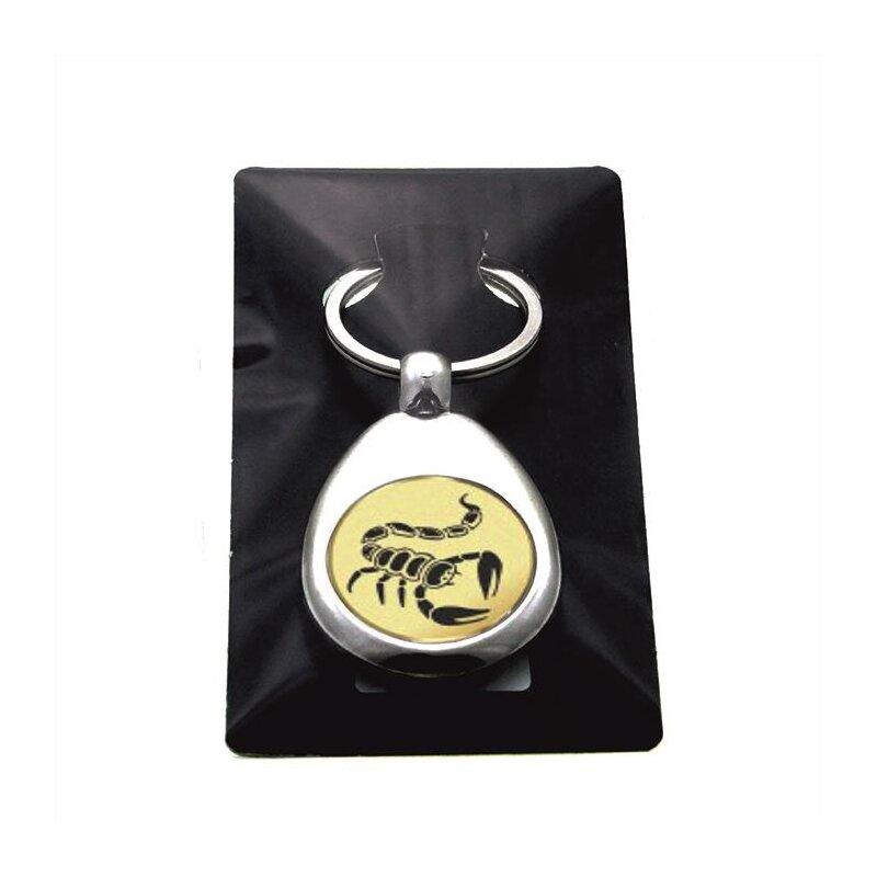 """""""Skorpion"""" Schlüsselanhänger mit Einkaufschip in Gold/Silber/Bronze"""