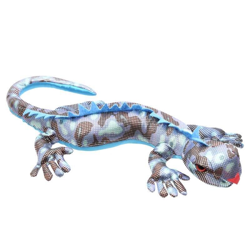 Sandgefüllter Salamander blau, Groß