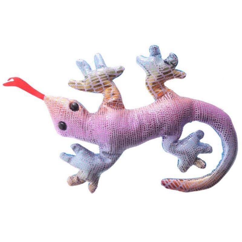 Kleiner Sandgefüllter Gecko regenbogen hell
