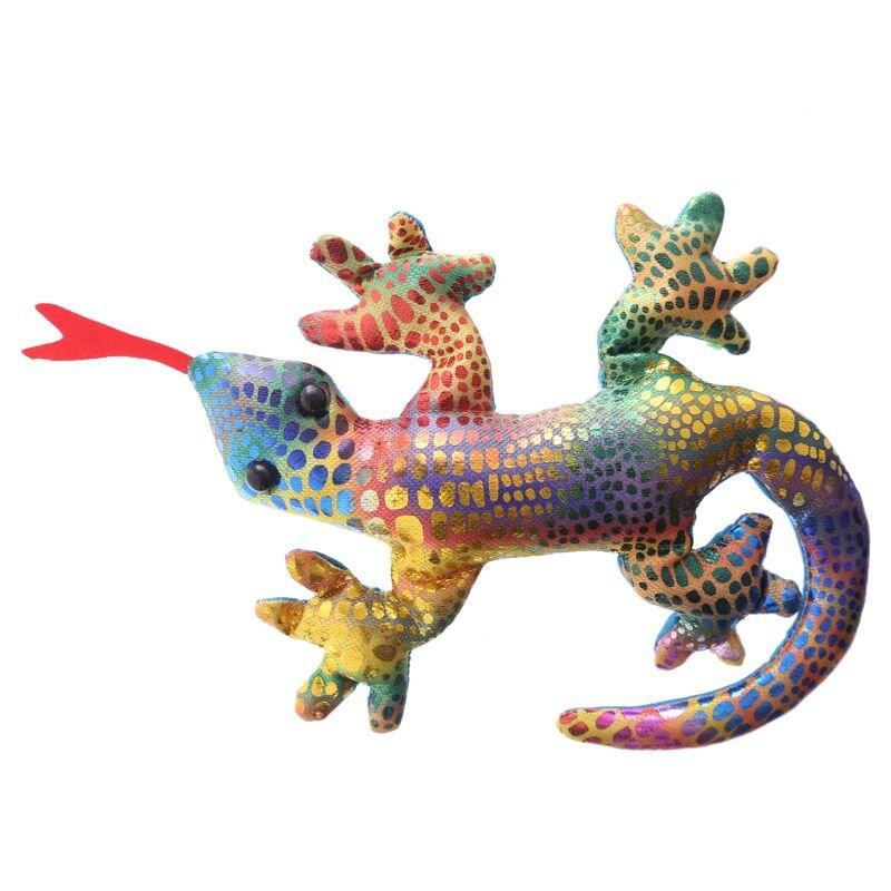 Kleiner Sandgefüllter Gecko bunt
