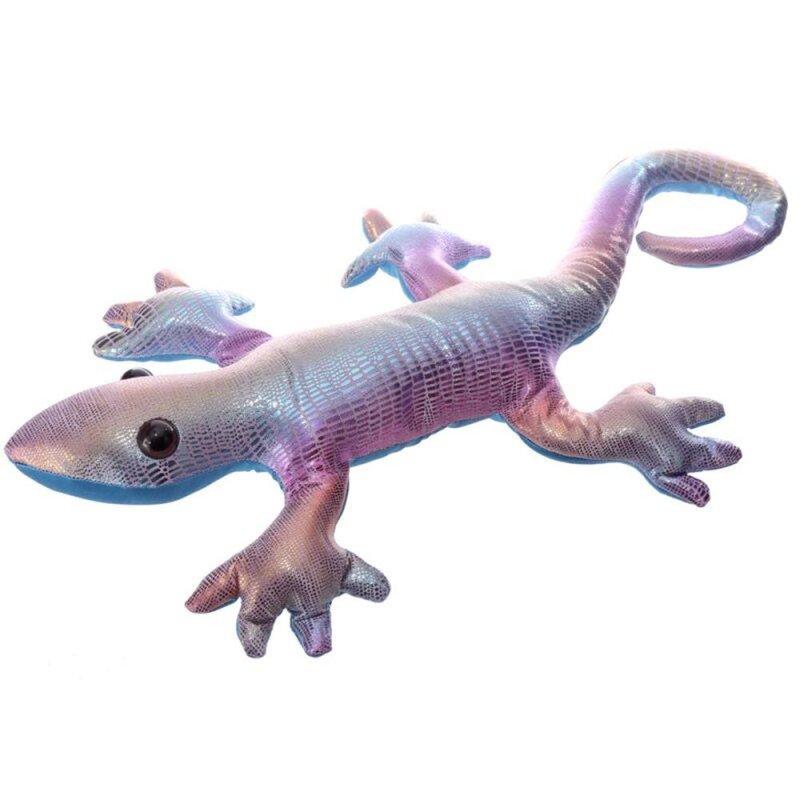Sandgefüllter Gecko Regenbogen hell, Groß