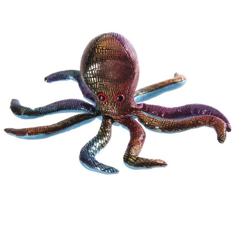 Sandtier Octopus Regenbogenfarbe dunkel