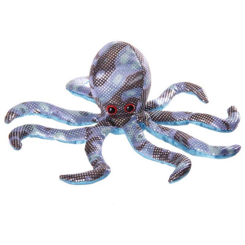 Sandtier Octopus Blau