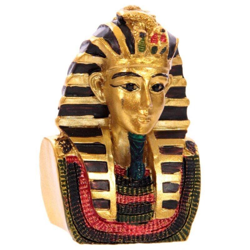 Ägyptische Figuren in einer Tasche