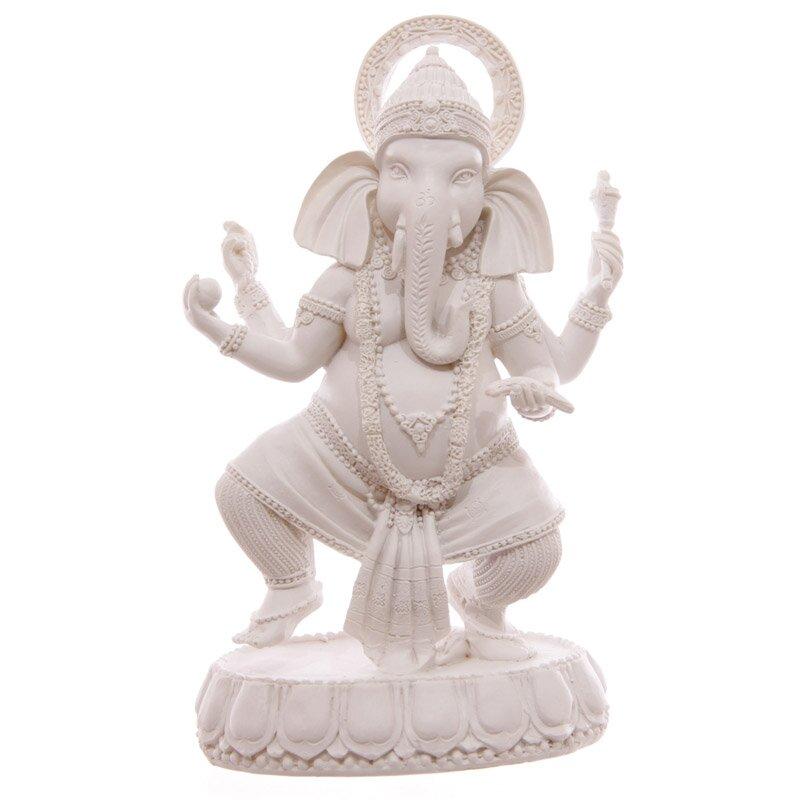 Weißer Ganesha 19 cm