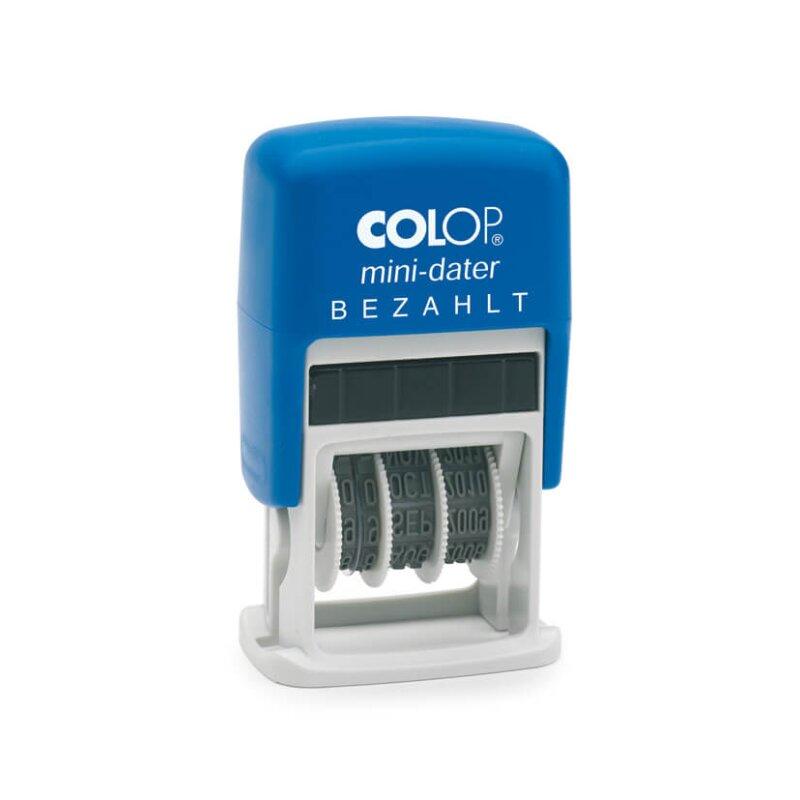 """Colop Mini Dater S 160/L2  """"BEZAHLT"""" (5 x 25 mm)"""