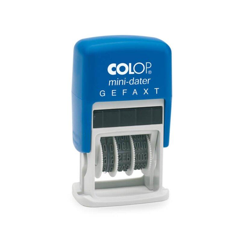 """Colop Mini Dater S 160/L4 """"GEFAXT"""" (5 x 25 mm)"""