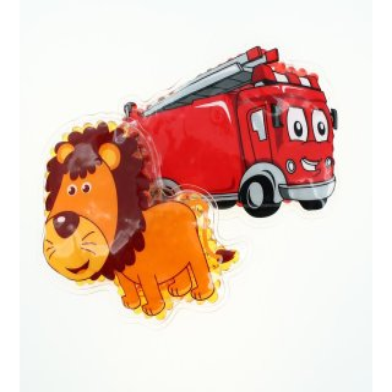 2 Kühlpads Löwe Feuerwehr