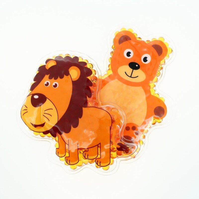 2 Kühlpads Löwe Teddybär