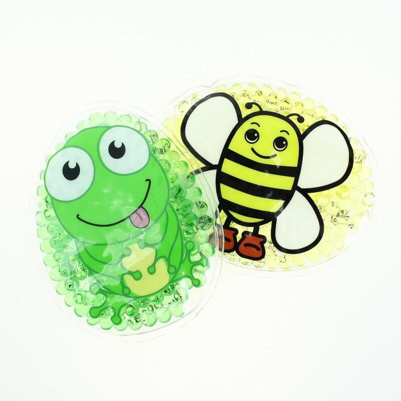 2 Kühlpads Biene Frosch