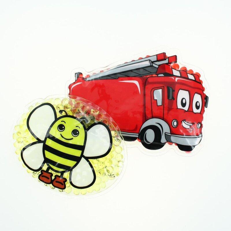 2 Kühlpads Biene Feuerwehr