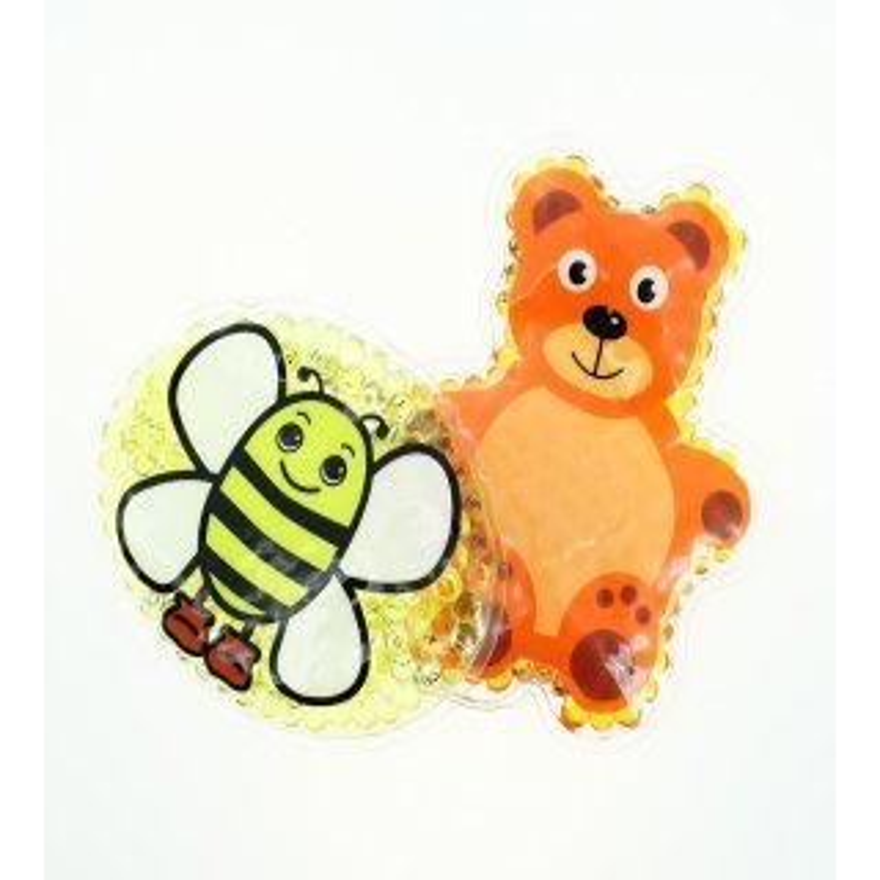 2 Kühlpads Biene Teddybär