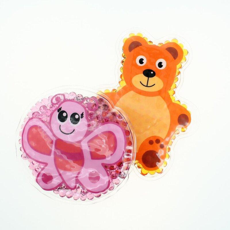 2 Kühlpads Schmetterling Teddybär