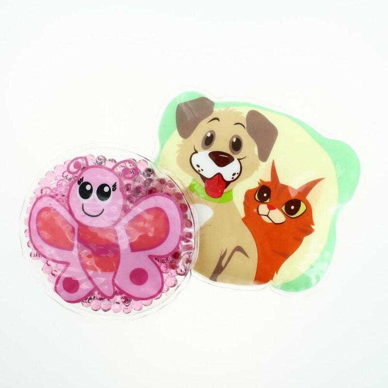 2 Kühlpads Schmetterling Hund/Katze