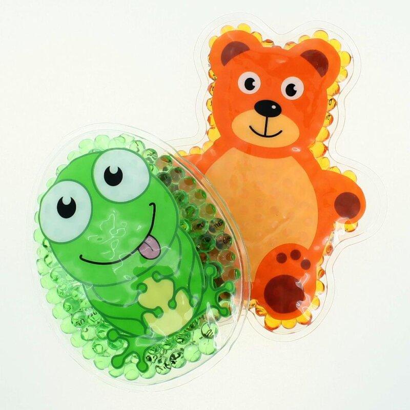 2 Kühlpads Frosch Teddybär