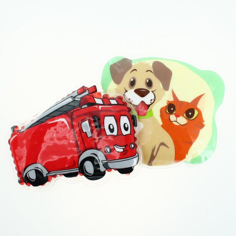 2 Kühlpads Feuerwehr Hund/Katze