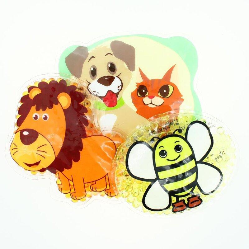 3 Kühlpads Löwe Biene Hund/Katze