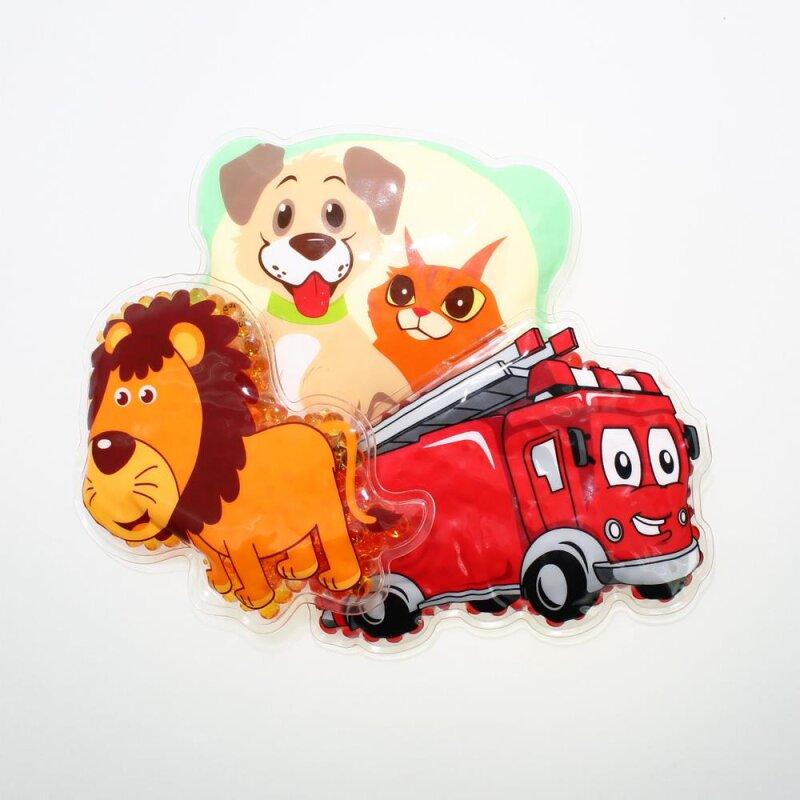 3 Kühlpads Löwe Feuerwehr Hund/Katze