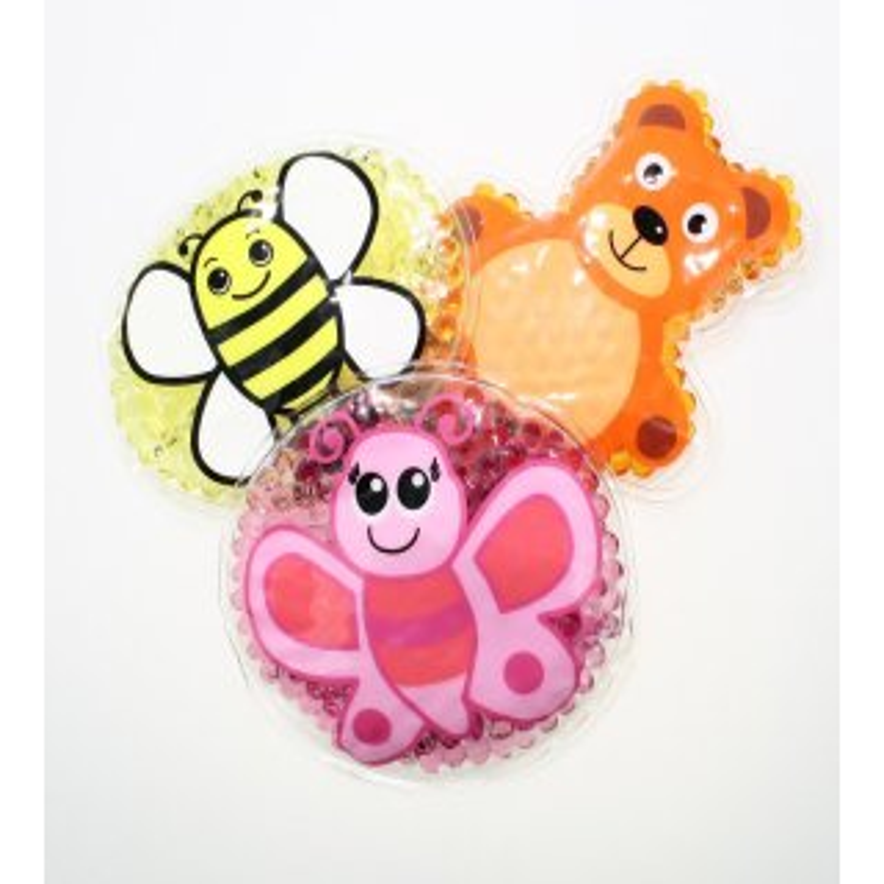 3 Kühlpads Biene Schmetterling Teddybär