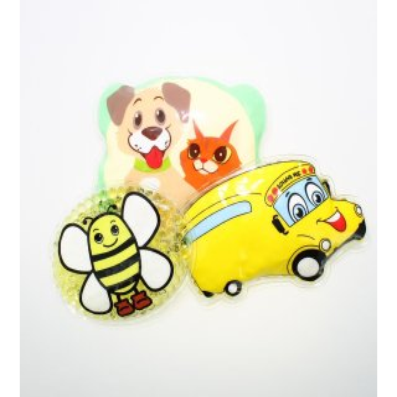 3 Kühlpads Biene Bus/Gelbes Auto Hund/Katze