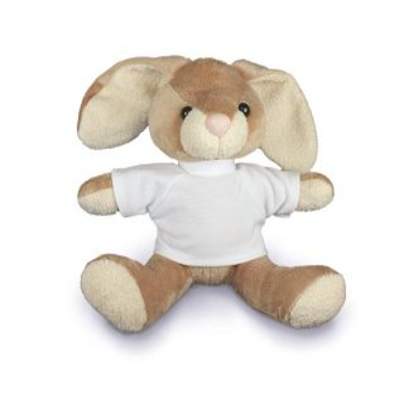 Kuscheltier Hase Bunny  mit T-Shirt