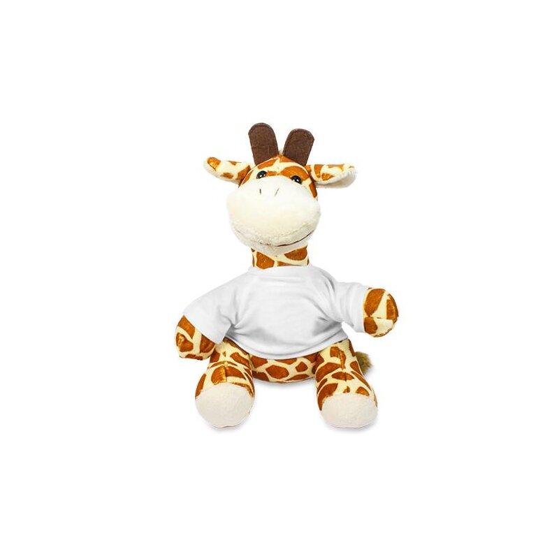 Kuscheltier Giraffe  mit T-Shirt