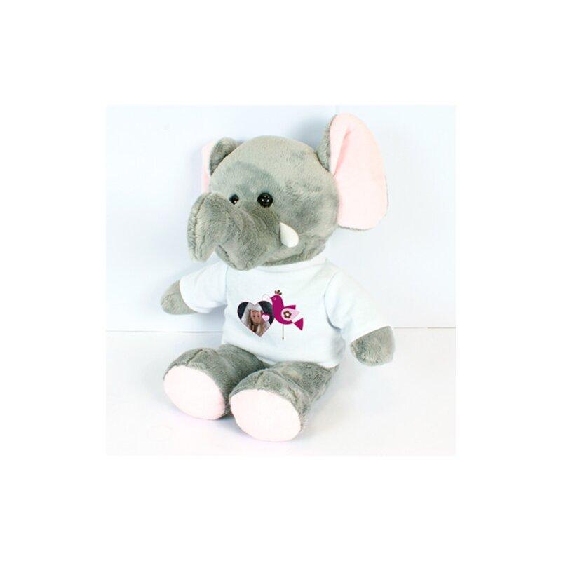 Kuscheltier Elefant Jumbo  mit T-Shirt