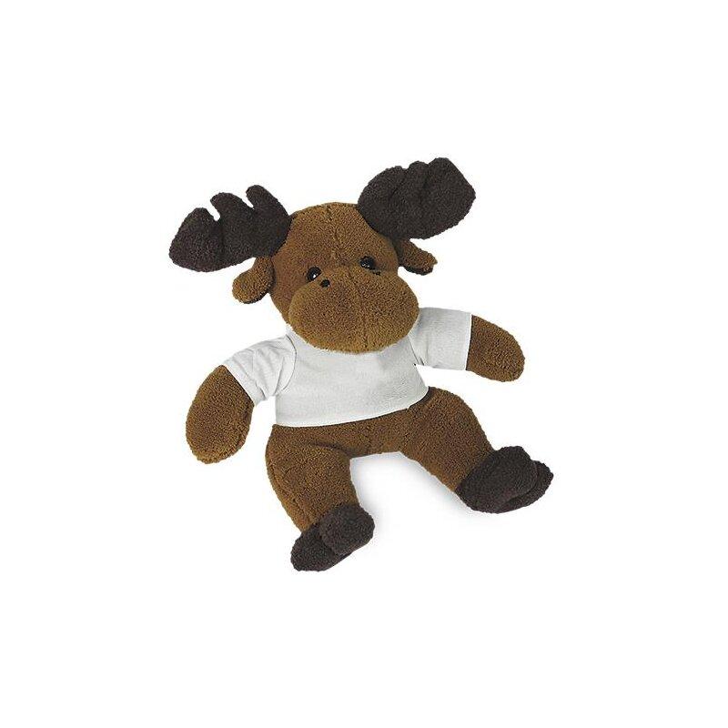 Kuscheltier Elch Knut  mit T-Shirt