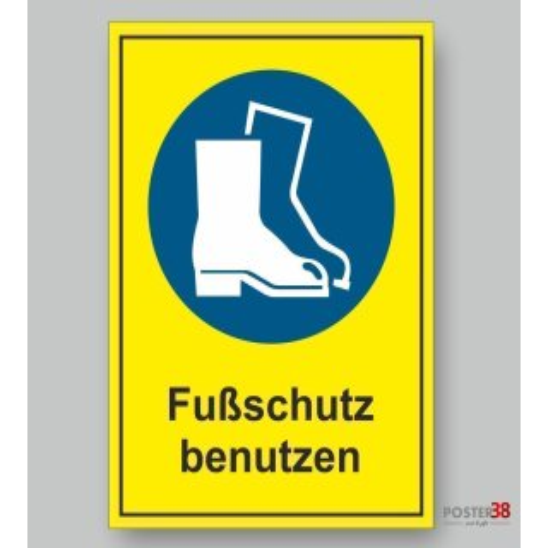 """Aufkleber """"Gebrauchsanweisung benutzen"""", reflektierend, Hintergrund gelb, DIN ISO 7010"""