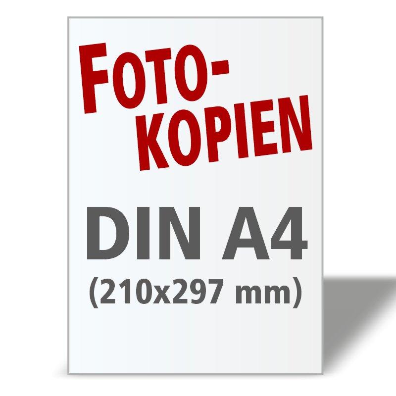 Fotokopien DIN A4