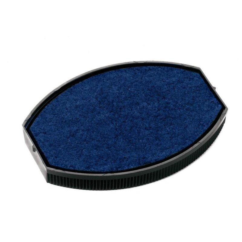 Colop Printer 55 Oval Austauschkissen Blau (35 x 55 mm)