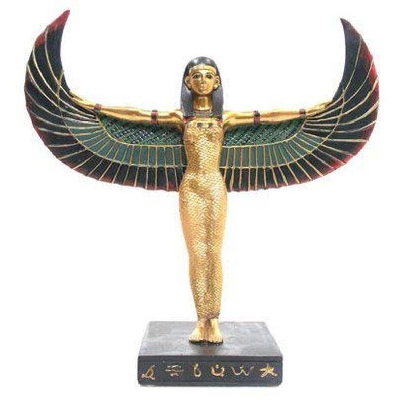 Stehende Isis - tolle Ägyptische Figur