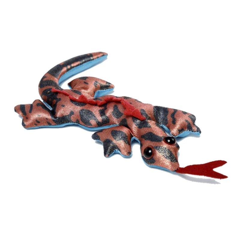Kleiner Sandgefüllter Salamander rot
