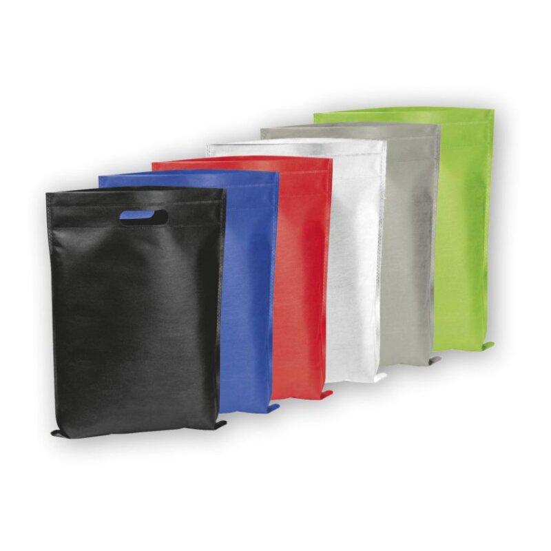 Non Woven Tasche, 6 verschiedene Farben - 3er Set