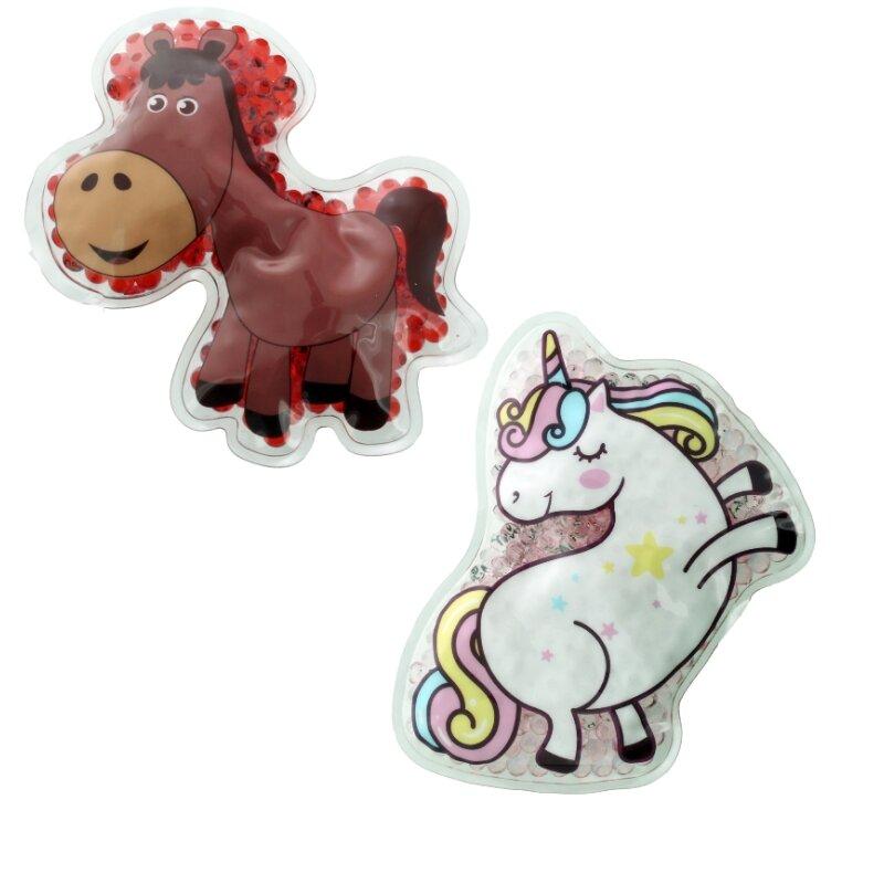 2 Kühlpads Einhorn Pferd