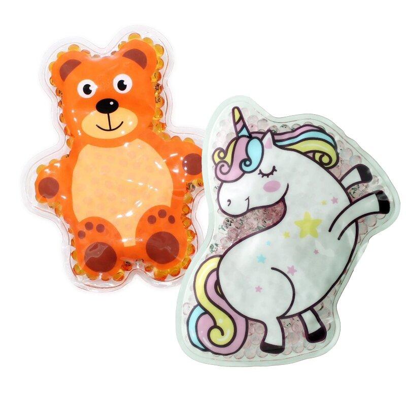 2 Kühlpads Einhorn Teddy