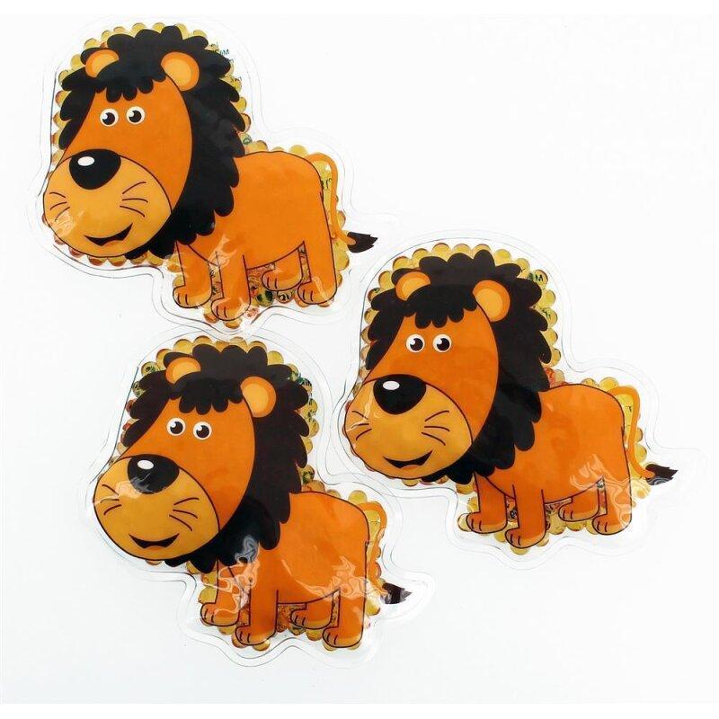 3 Kühlpads Löwe